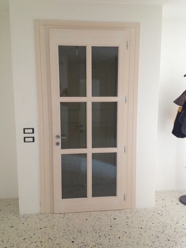 Porta finestra in legno FB F.lli Barbiero Serramenti